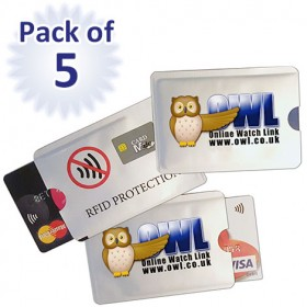 Card Minders, pack of 5 - OUT OF STOCK
